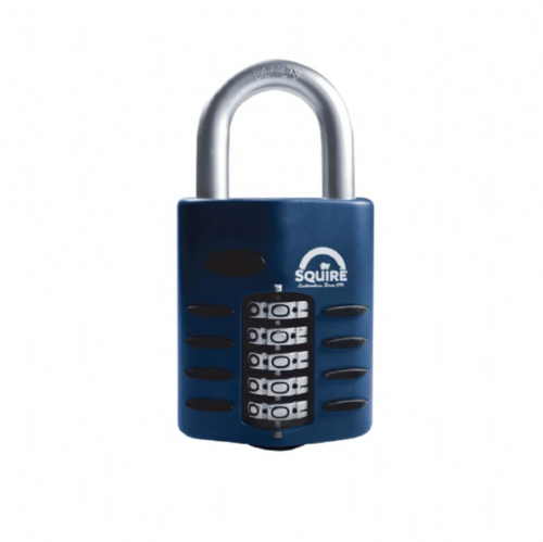 Squire CP60 Combination Padlock 5 Wheel 60mm
